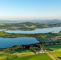 (c) Salzburger Seenland Mattsee Obertrumer See Grabensee