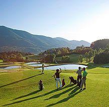 Herrlich beim golfen