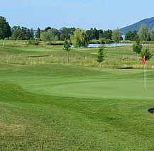 Golfclub am Attersee, Grün