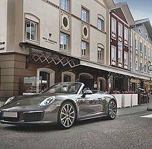 Iris Porsche Aussenansicht