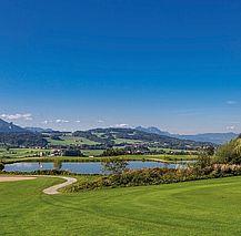 Golfclub Römergolf, Blick auf die Berge