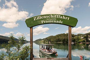 Zille Anlegestelle (c) Ebners Waldhof