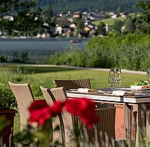 Ausblick Seehotel Restaurant Lackner ****S