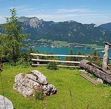 Ausblick auf den Wolfgangsee (c) WTG