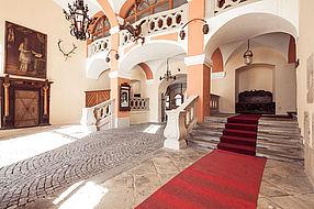 Schlosshotel Mondsee, Hof