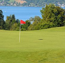 Golfclub am Attersee, Blick am See