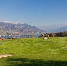 Golfclub Drachenwand, Blick auf Berg und See