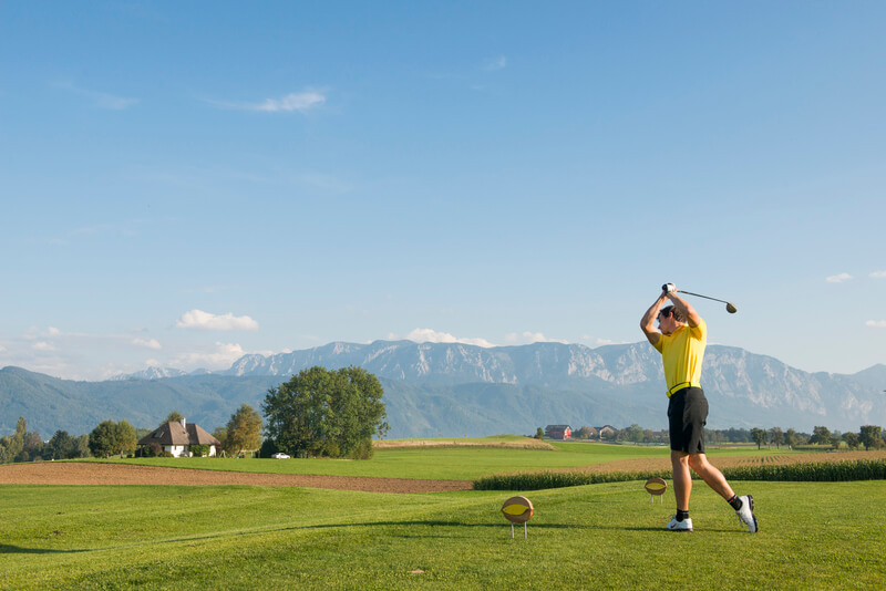 Golfen am Attersee, © OÖTourismus-Erber